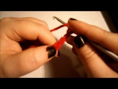 Maglia alta-Doppia  Maglia alta(Double and treble crochet Jersey high)