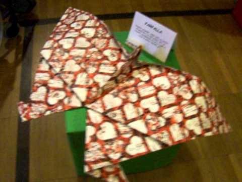 Mostra di origami Giganti ed in Miniatura