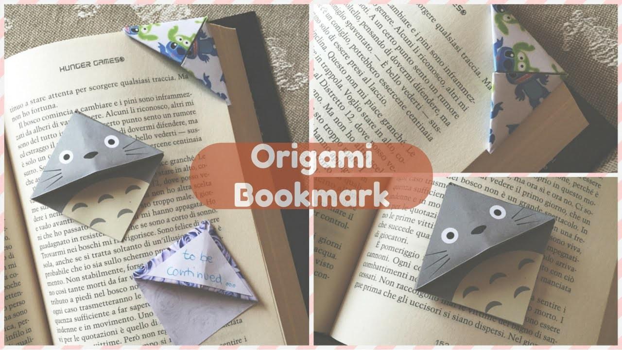 Origami Bookmark DIY (segnalibro) | Chibiistheway