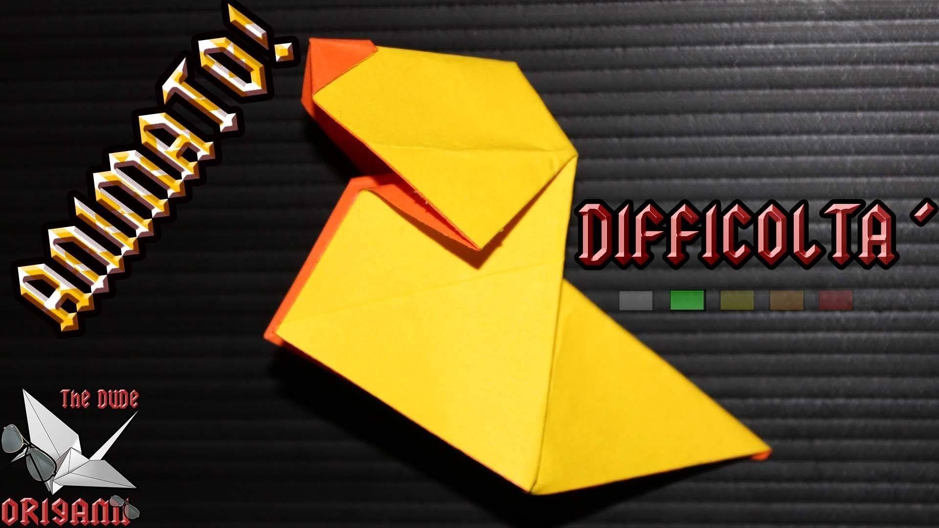 [ORIGAMI ITA] Cane Che Abbaia (Ulrike Krallman-Wenzel) || Origami Animati.Per Bambini (E Non Solo!)