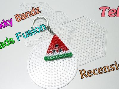 Recensione Telai Shokky Bandz Beads Fusion - Portachiavi Anguria Hama Beads  Tutorial