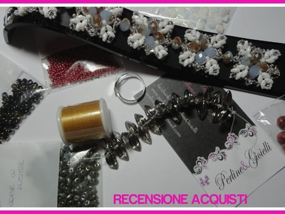 Review acquisti Perline & Gioielli - Superduo, rulla, o' beads