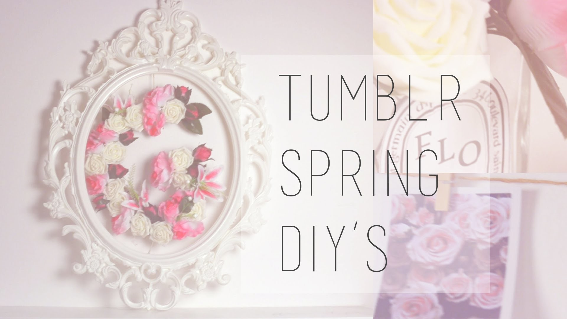 Tumblr spring DIY || Room decor ITA