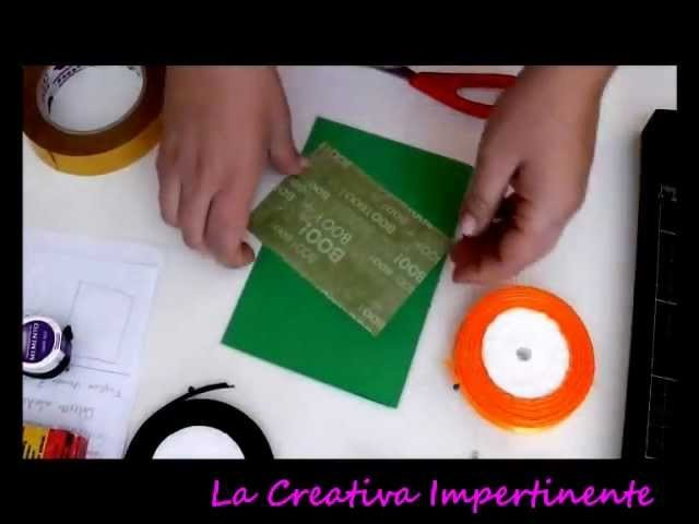 DIY: Tutorial Halloween - Card
