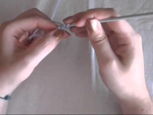 Punti Base all'Uncinetto: La Maglia Alta - Double Crochet