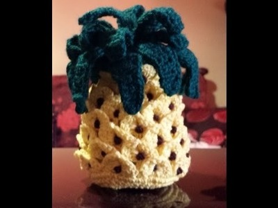 Ananas Amigurumi - Tutorial uncinetto - crochet piña - pineapple crochet