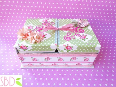 Tutorial: Scatola porta Gioie - Jewelry Box DIY