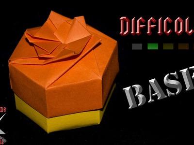 [ORIGAMI ITA] Scatola Esagonale Facile (Base) || Scatole.Decorazioni
