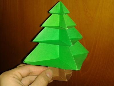 Origami: Albero di Natale (facile)