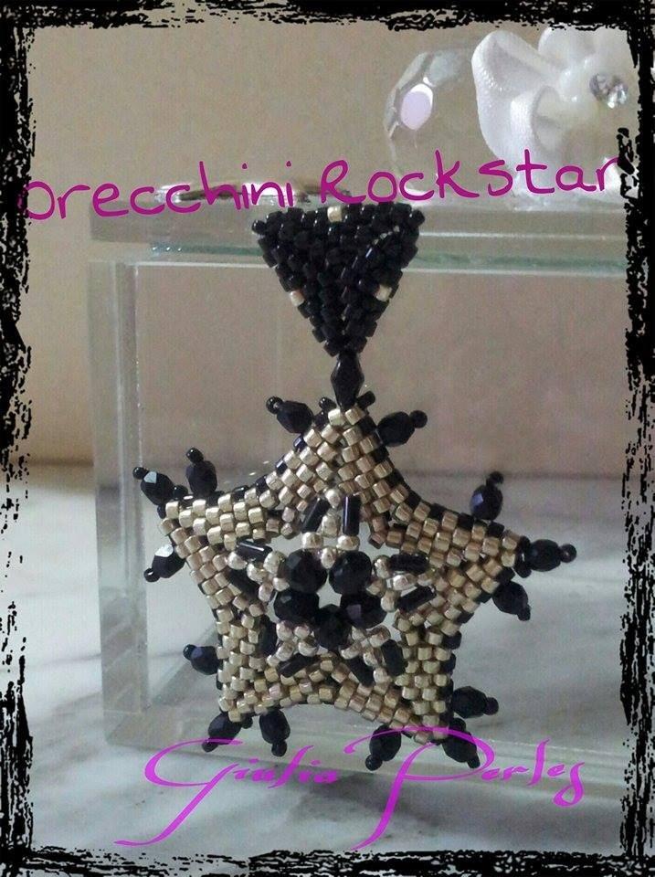 DIY Tutorial: orecchini RockStar :D