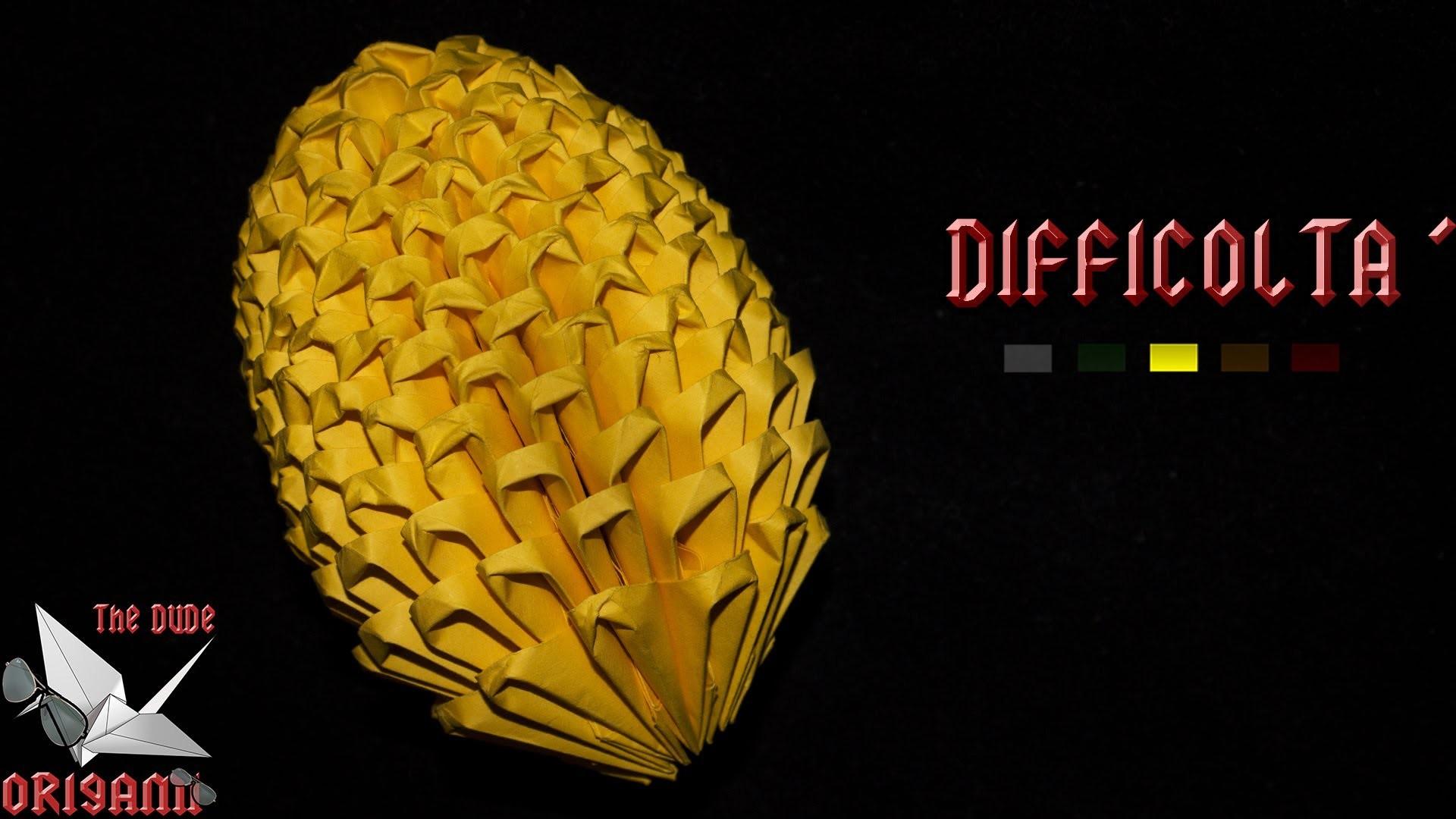 [ORIGAMI 3D ITA] Uovo Di Pasqua || Origami Di Pasqua.Per Decorazioni