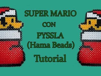 Super Mario Bros Natalizio Con PYSSLA(Hama Beads) Tutorial!