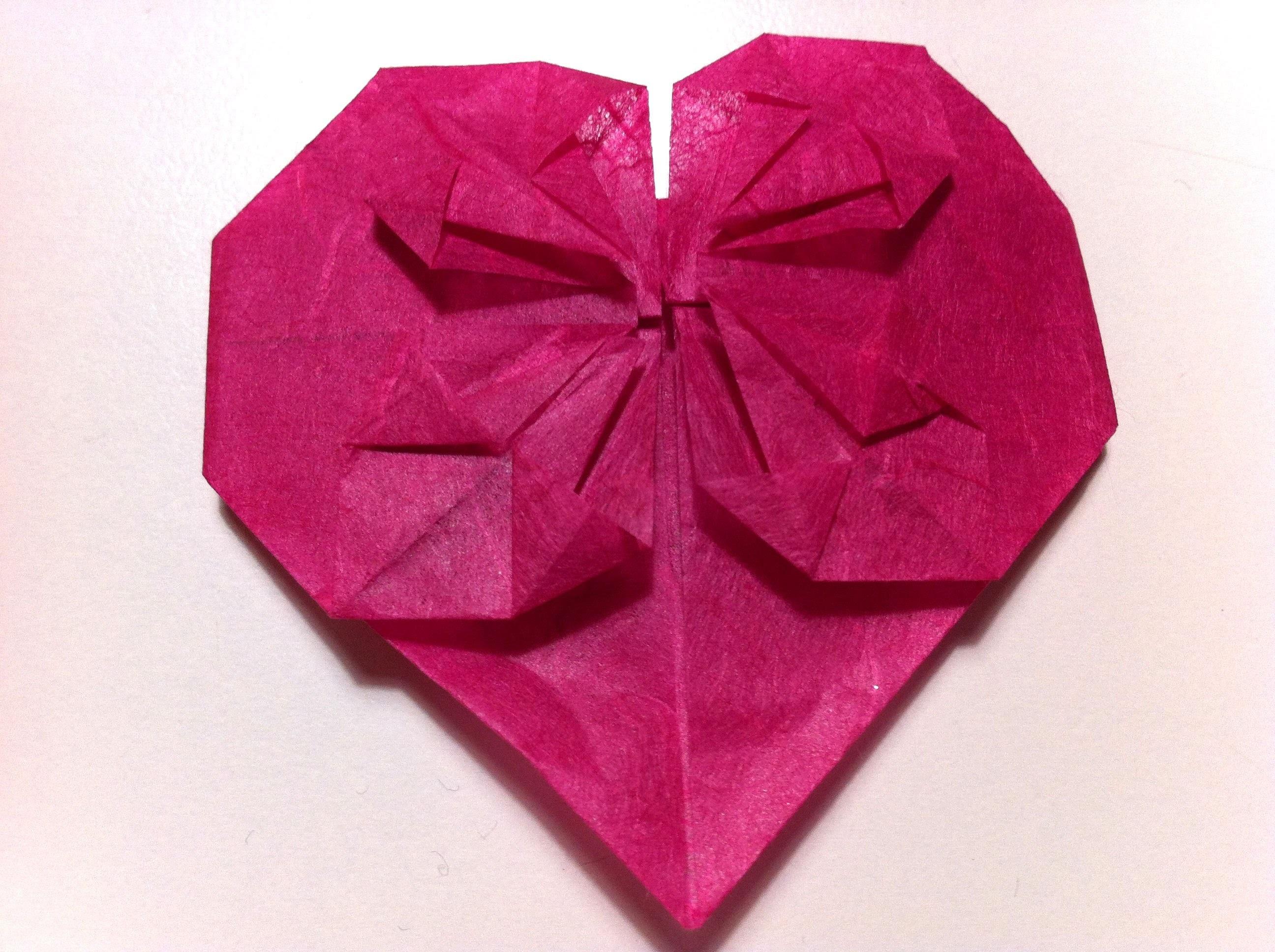 Cuori Origami 2 per San Valentino_Tutorial Musinlove.wmv