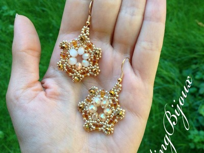 TUTORIAL | Orecchino.Modulo Manuela | DIY bead Earrings