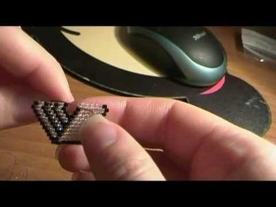 Bracciale Brick Stitch parte III