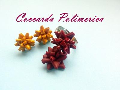 DIY Coccarda Polimerica - Polymer Cockade Gift - Tutorial (Fimo, Premo, Cernit)