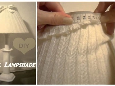 DIY Lampada di lana ( facile )✄