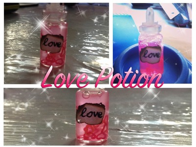 DIY - Tutorial ❥ Love Potion Bottle
