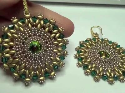 I miei gioielli fatti a mano, swarovski, perline, superduo, metallo patinato