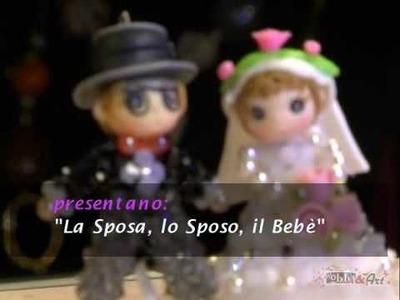 Perline in 3D: La Sposa, Lo Sposo, Il Bebè
