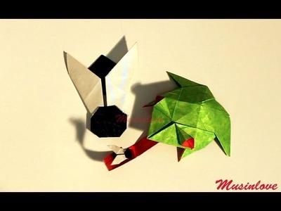Rana Origami   tutorial Musinlove