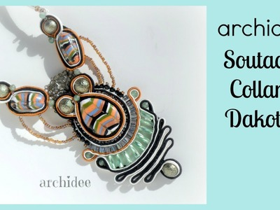Soutache | Sutasz | Tutorial Collana Dakota | Prima Parte