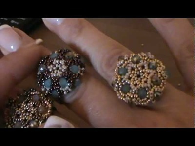 "Tutorial anello ""Charlotte"" ( tutorial ring ""charlotte"")"