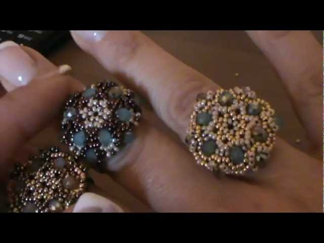"Tutorial anello ""Charlotte"" ( tutorial ring ""charlotte"")"