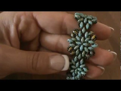Tutorial bracciale con superduo.