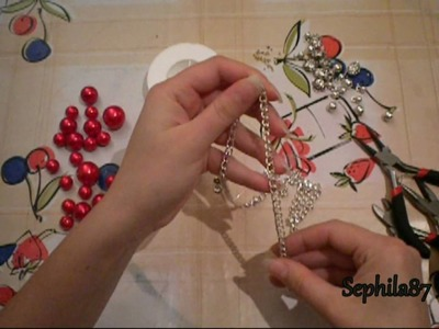 Tutorial: Collana e orecchini con perle colorate con i colorink