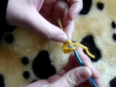 Uncinetto lezione 2: Maglia bassissima, maglia altissima e avvio circolare