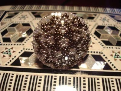 Video creazione gioielli: collana crochet e anello persia. Beadwork