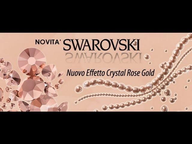 Video review| cosa ho comprato dal sito online Perles & co, nuovo colore swarovski crystal gold rose