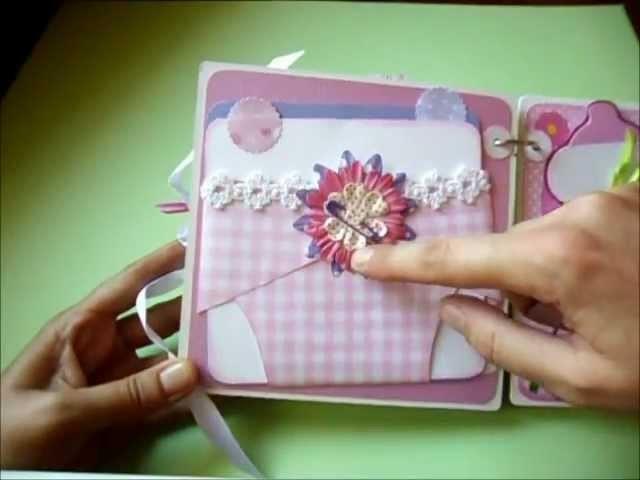 """Vittoria"" minialbum.baby girl minialbum"