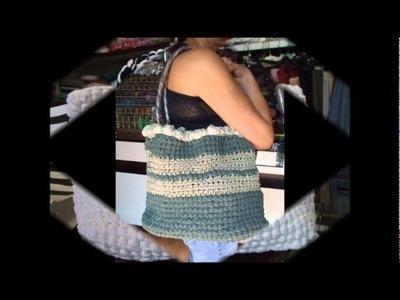 Borse uncinetto2.wmv  by www.merceriaclaretta.com