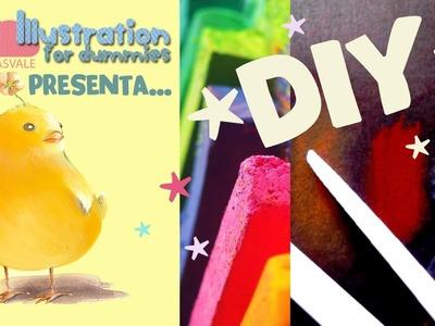 DIY - Come fare SFUMINI da disegno fai da te (paper tortillons DIY)