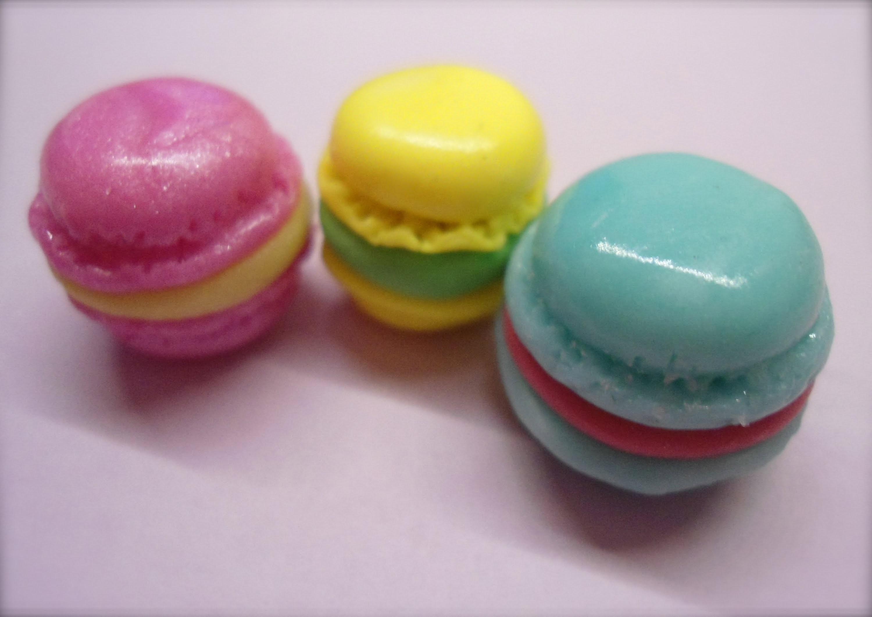 DIY Polymer clay French Macarons (3 ways. 3 modi)!
