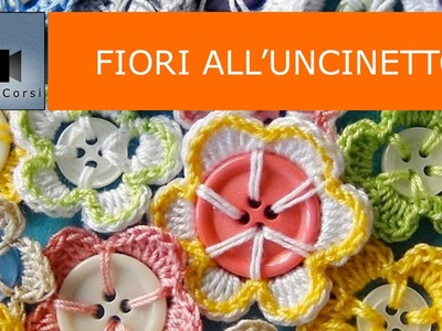 Riciclo Creativo Bottoni e Decorazioni all'Uncinetto