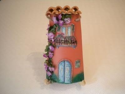 Tutorial: Decoupage tridimensionale su tegola di ceramica (prima parte)