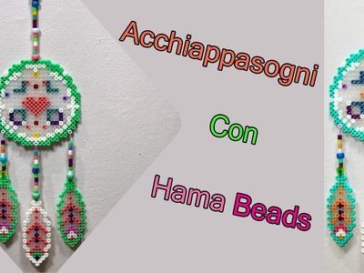 Acchiappasogni con Hama Beads ♡ Perler Bead Dreamcatcher