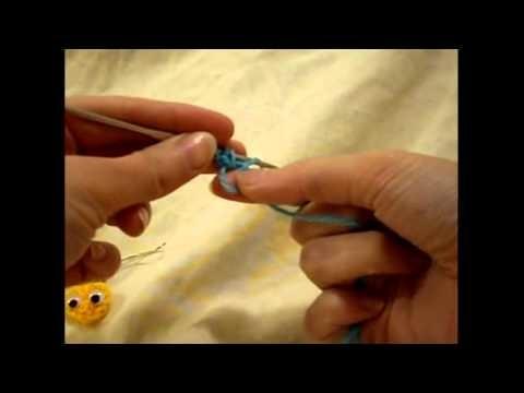 AMIGURUMI TUTORIAL MINI CUORE CROCHET(amigurumi crochet tutorial mini heart )