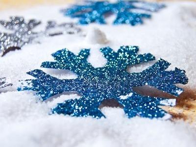 Costume Frozen: fiocchi di neve fai da te