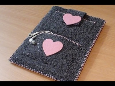 Cover tablet DIY (Video tutorial)