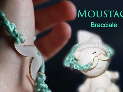 DIY ☆ TUTORIAL bracciale MOUSTACHES + collana chic. vi porto a Parigi ;) ! ☆ Marisa'Style