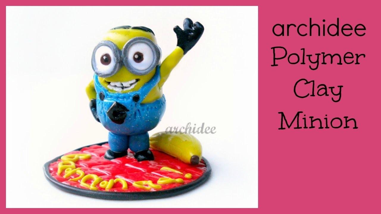 Minion Bananaaaaa | Polymer Clay Tutorial | DIY Minion con Banana | Despicable Me | Cattivissimo Me