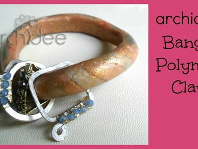 Polymer Clay Tutorial | DIY Satelliti Bangle | Bracciale Rigido