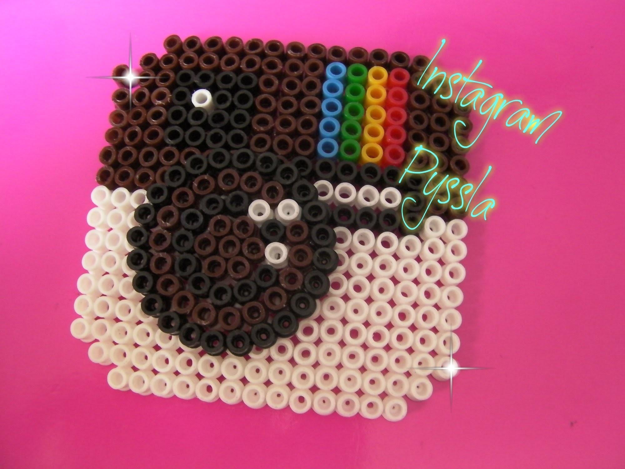 Pyssla-Hama Beads ✿Instagram✿ tutorial