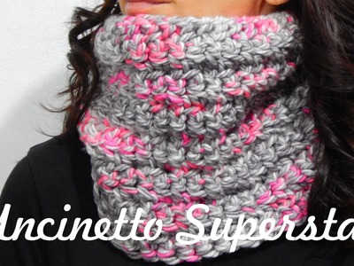 Scaldacollo all'uncinetto da fare in un pomeriggio! | Two Hours Crochet Cowl Tutorial