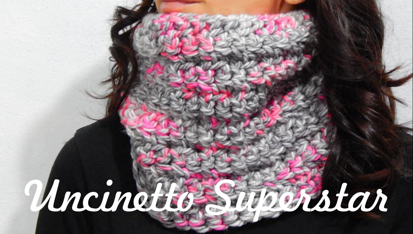 Scaldacollo all'uncinetto da fare in un pomeriggio! | Two Hours Crochet Cowl Tutorial