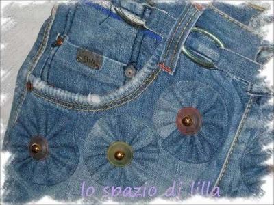 Tutorial: come cucire una borsa usando un vecchio jeans